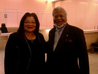 Dr. Alveda King and Nirj Deva, Member of European Parliment